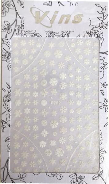 Nailart Sticker-Schneeflocken