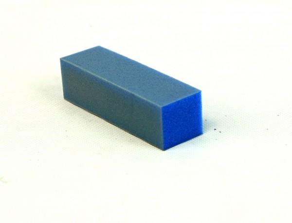 Buffer, blau - 180-er Körnung