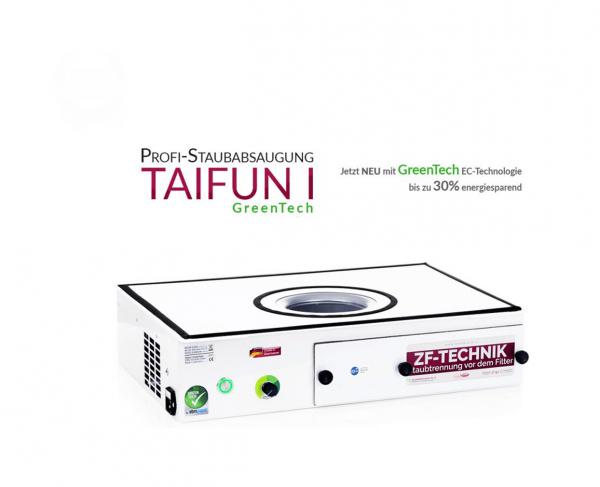 Profi-Staubabsaugung Taifun 1 GreenTech