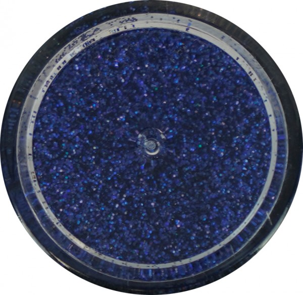 Glitter - medium royalblau