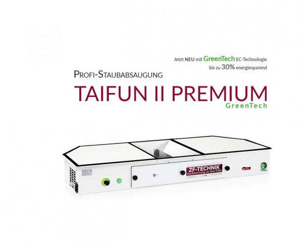 Profi-Staubabsaugung Taifun 2 Premium GreenTech