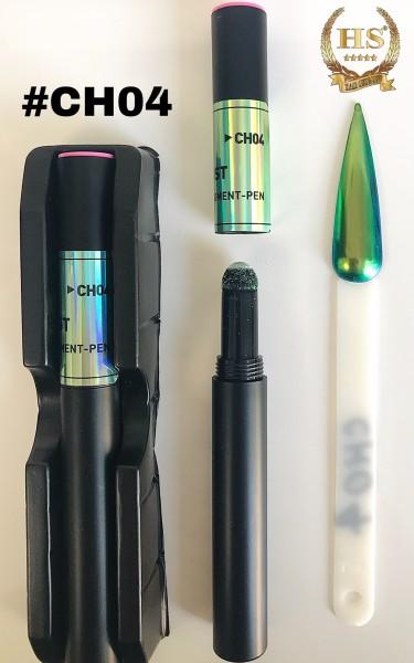 Pigmentstift - grün - blau Aurora